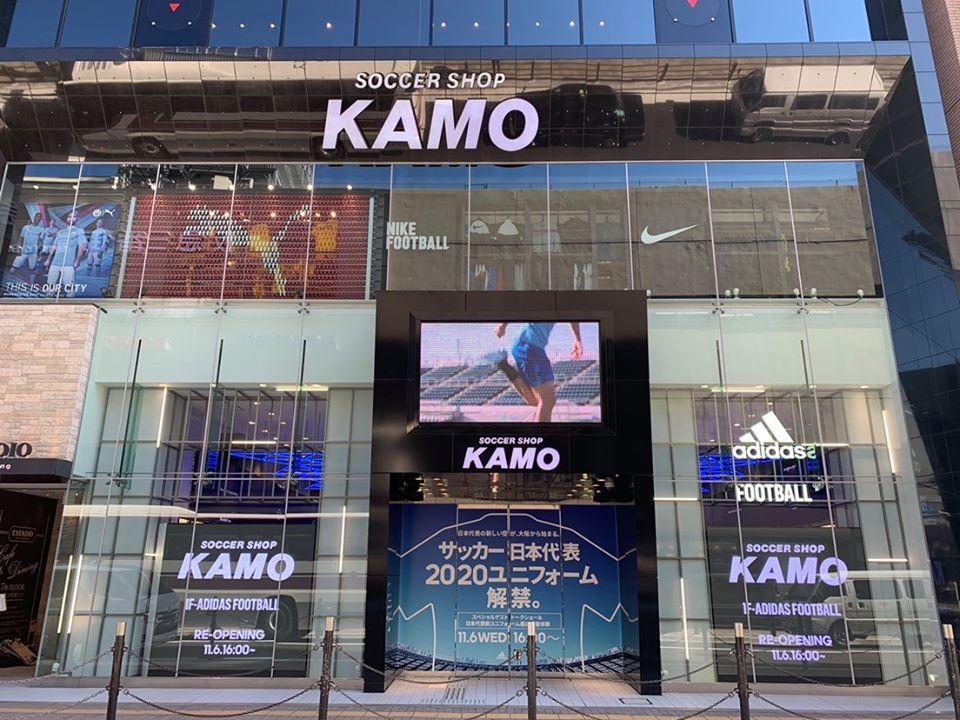 サッカーショップKAMO 梅田店