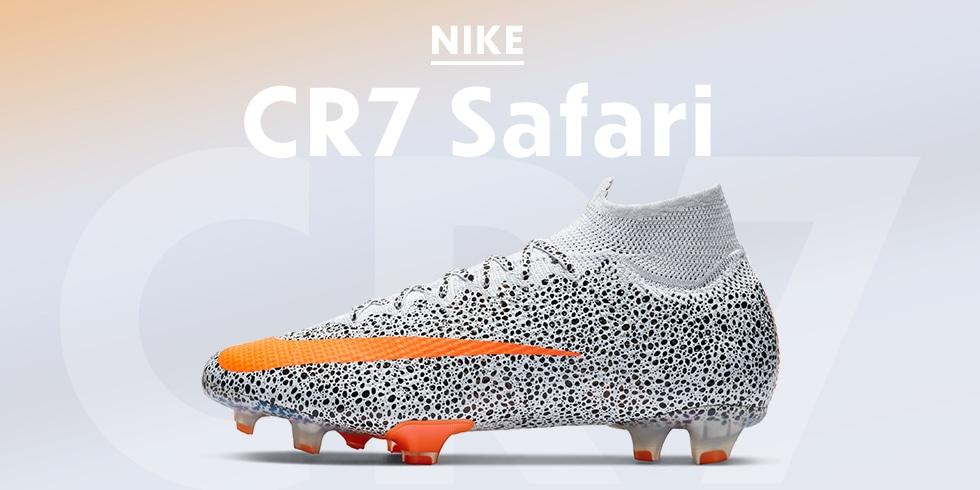 ナイキ「cr7 Safari」