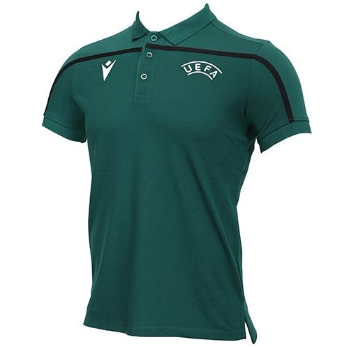 UEFA オフィシャルレフリー トラベルポロシャツ