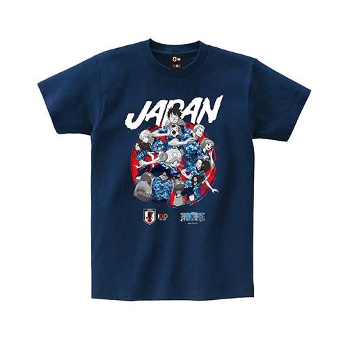 ONE PIECE Tシャツ 日本代表(集合) Mサイズ