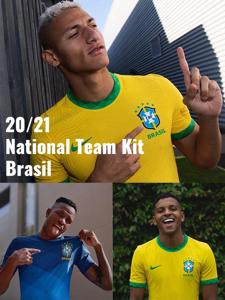 ナイキ「ブラジル代表 ユニフォーム」