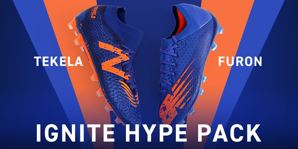 サッカーショップKAMO「NEWBALANCE IGNITE HYPE PACK」