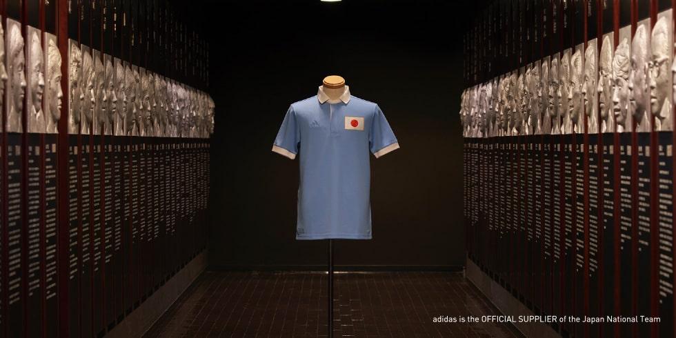 アディダス「サッカー日本代表 アニバーサリーユニフォーム」