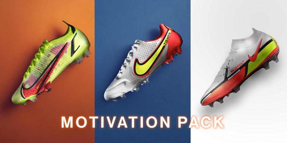 サッカーショップKAMO「ナイキ MOTIVATION PACK」