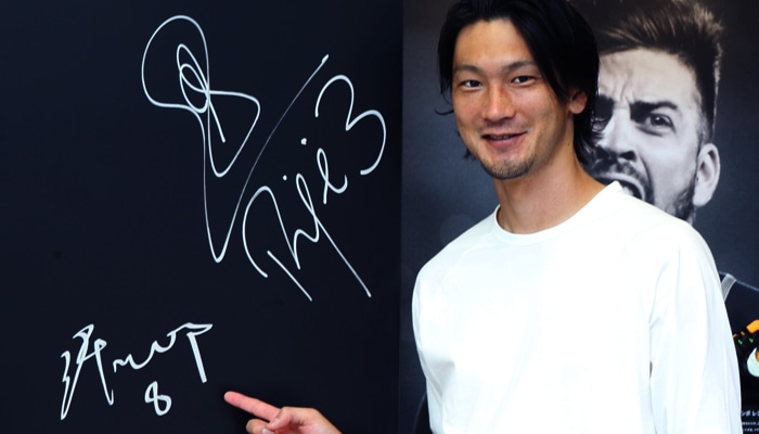 高萩洋次郎選手